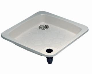 Plato de ducha astralpool cod 00103 piscinas lara for Plato ducha 60 x 80