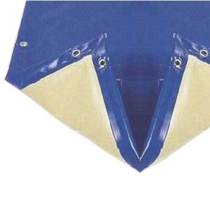 Manta de invierno para piscina de 8 x 4 azul beige piscinas lara - Manta de invierno para piscina ...