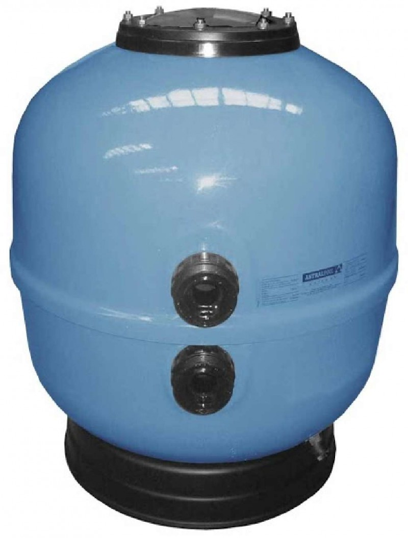 Filtro aster blue diametro 600 con valvula selectora - Filtro de arena para piscinas ...