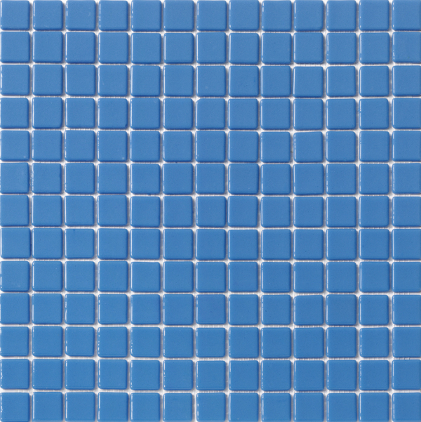 Material Vitreo L 7 Azul Medio Liso 25 X 25 Punto De