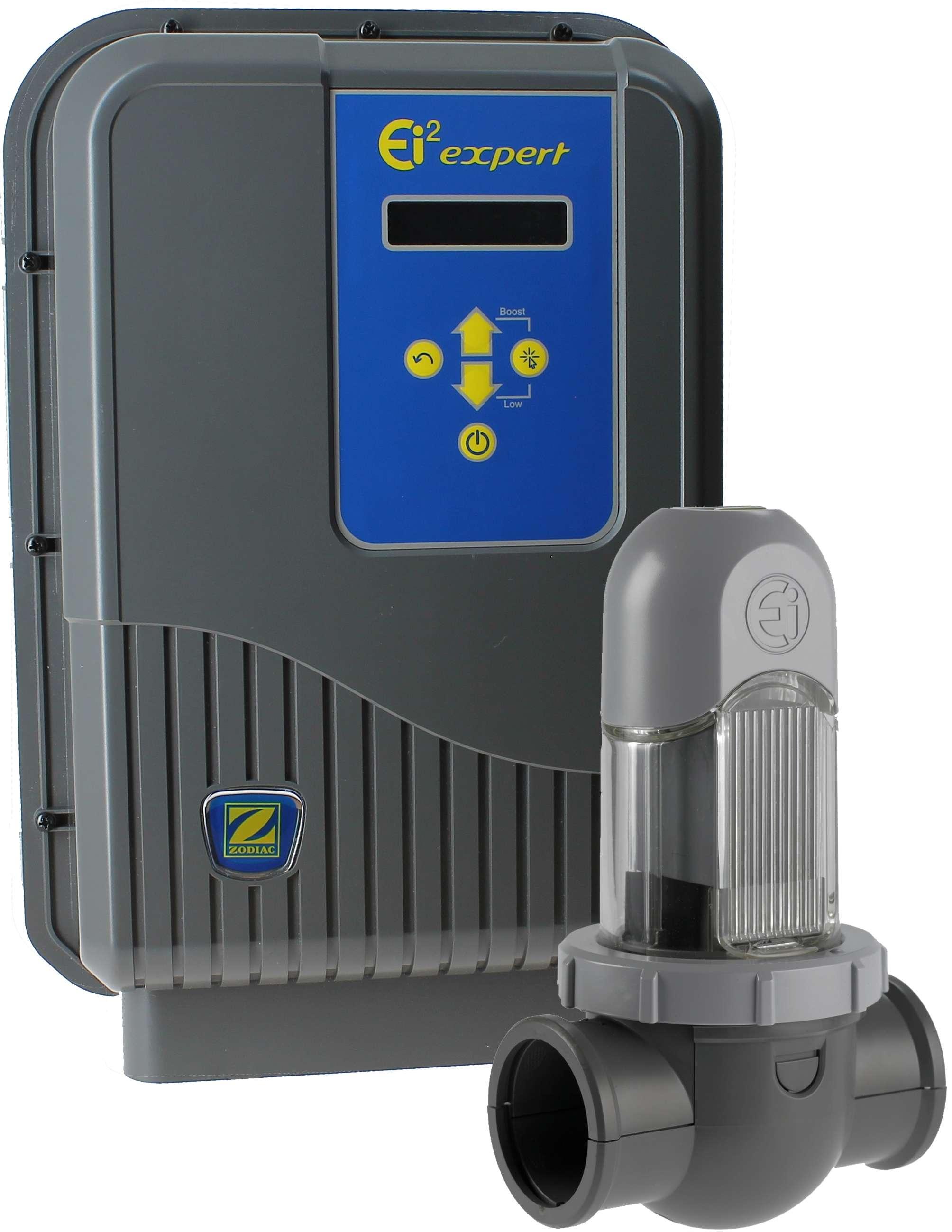 Ei2 expert 10 40 m3 clorador salino piscinas lara for Reloj programador piscina precio